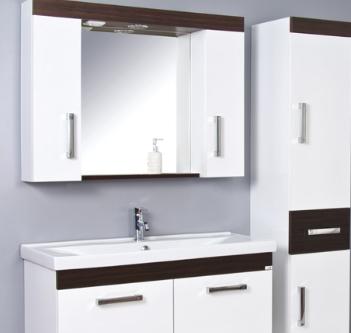 Ürün Özellikleri: Kaplama MDF - Krom Spot - Anahtarlı Priz - Etajerli Ayna - Frenli Kapaklar - Seramik Lavabo- Boy Dolap Frenli Kapak Uyumlu Lavabo: Safran Serisi Lavabolar