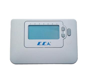 Uyumlu KombilerTüm kombiler, Ekran LCD, Bağlantı Kablolu,Model On/Off, Programlama Günlük, 6 farklı zaman dilimi.