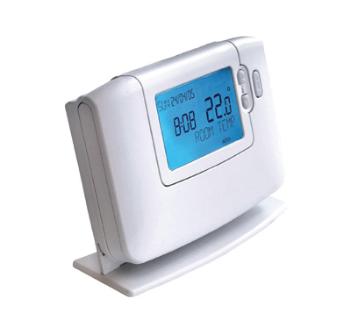 Uyumlu KombilerTüm kombiler, Ekran LCD, Bağlantı Kablosuz, Model On/Off, Programlama Günlük, 6 farklı zaman dilimi.