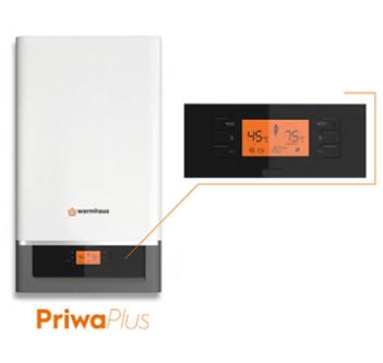 288 mm derinliği ile kompakt boyutlara sahip Priwa ve PriwaPlus için, mutfak veya balkon kabinlerinin içine kolayca montaj yapılabilir ve  böylece modern yaşam alanlarına kolaylıkla uyum sağlar.